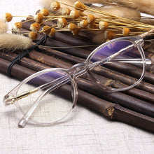 Load image into Gallery viewer, Fashion Clear Glasses Frame for Women Vintage Clear frame Round Eye Glasses Female Plastic Transparent Optical Glasses Frames