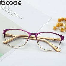 Load image into Gallery viewer, iboode Reading Glasses Unisex Women Men Optical Computer Glasses Ultralight Mirror Presbyopia Eyewear Anti-Reflective Reader
