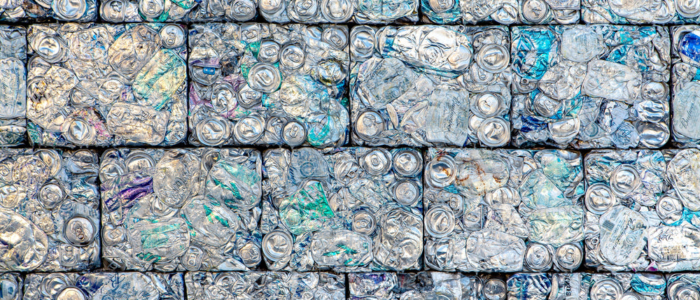 Aluminum actually gets recycled. Plastic doesn't.