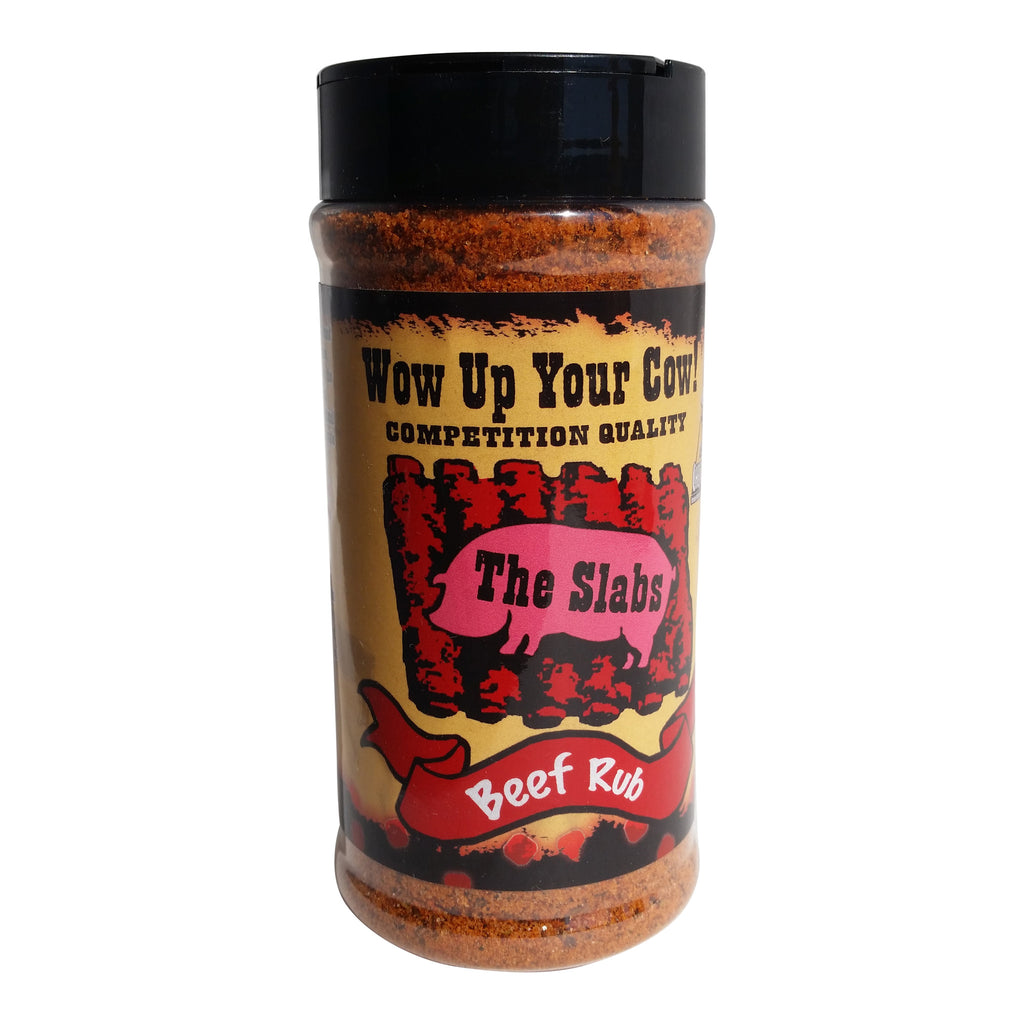 The Slabs, Wow Up Your Cow! Competition Quality Beef Rub 12oz