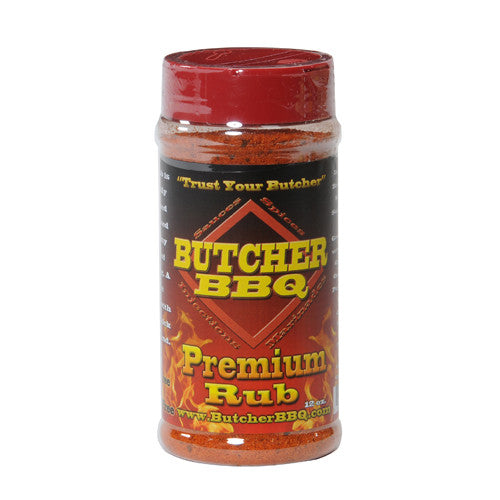 Butcher BBQ Premium Rub 12oz