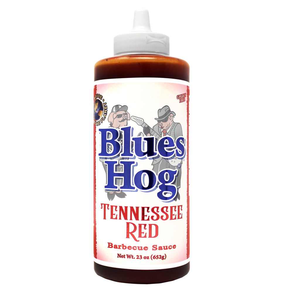 Blues Hog Tennessee Red BBQ Sauce, 23 ounce squeeze bottle