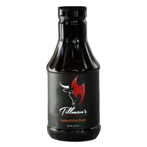 Tillman's Real Pit BBQ Competition Brew Sauce, 16 ounce Bottle