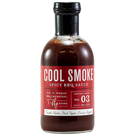 Tuffy Stone Cool Smoke Spicy BBQ Sauce