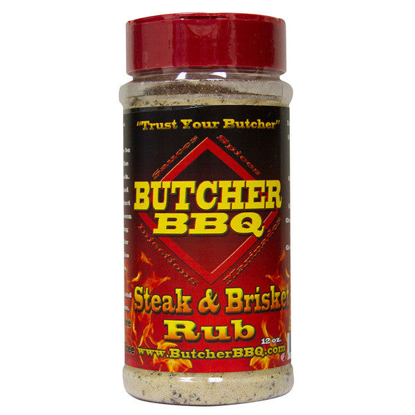 Butcher BBQ Texas Style Steak and Brisket Rub, 12oz
