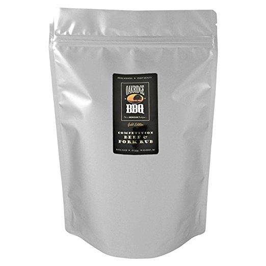 Oakridge Gold Edition Competition Beef and Pork Rub, 5 lb. bag