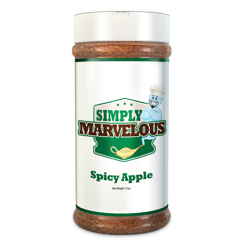 Simply Marvelous Spicy Apple BBQ Rub