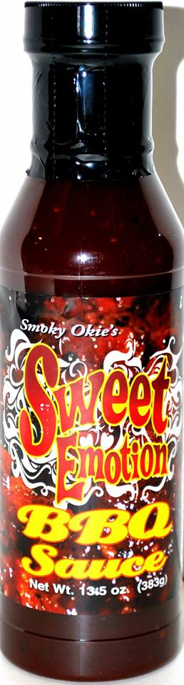 Smoky Okie's Sweet Emotion, 13.5 ounce bottle