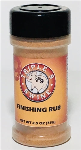 Triple 9 Finishing Rub, 2.5 oz.