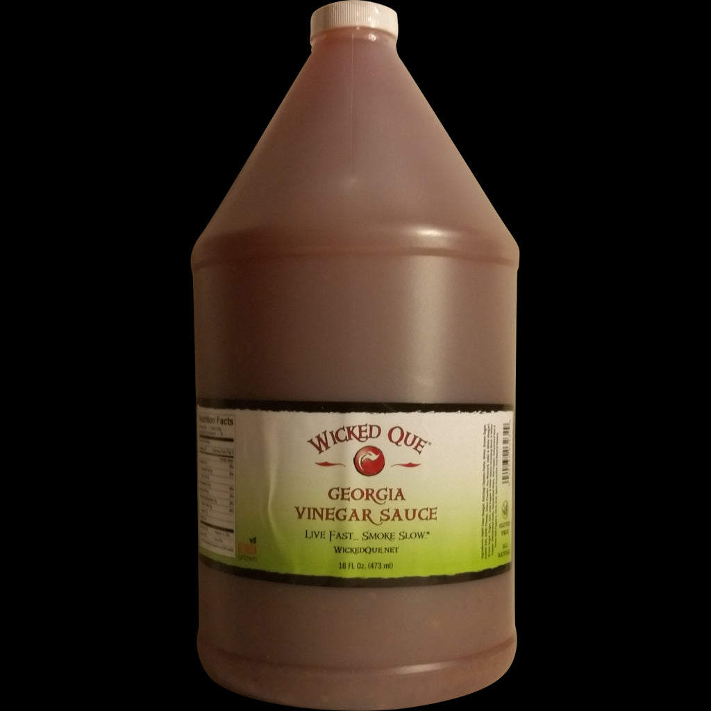 Wicked Que Georgia Vinegar Sauce, One Gallon