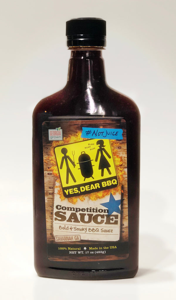 Yes, Dear Competition Sauce, 17 oz. Bottle