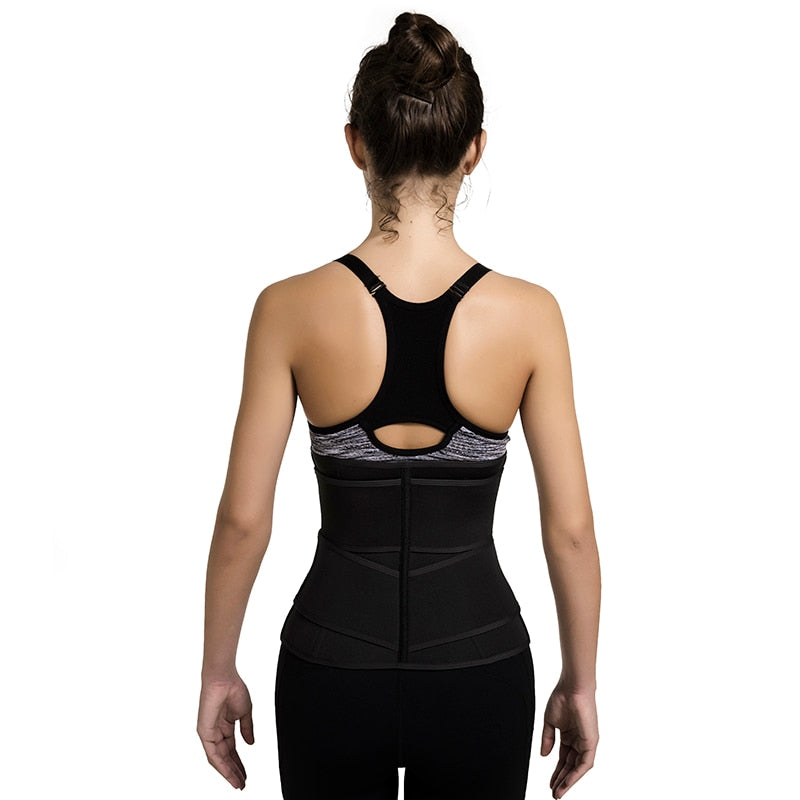Double Belt Compression Waist Trainer