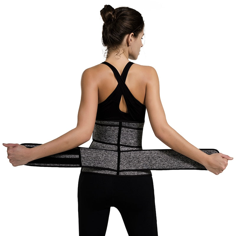 Double Belt and Hook Compression Waist Trainer