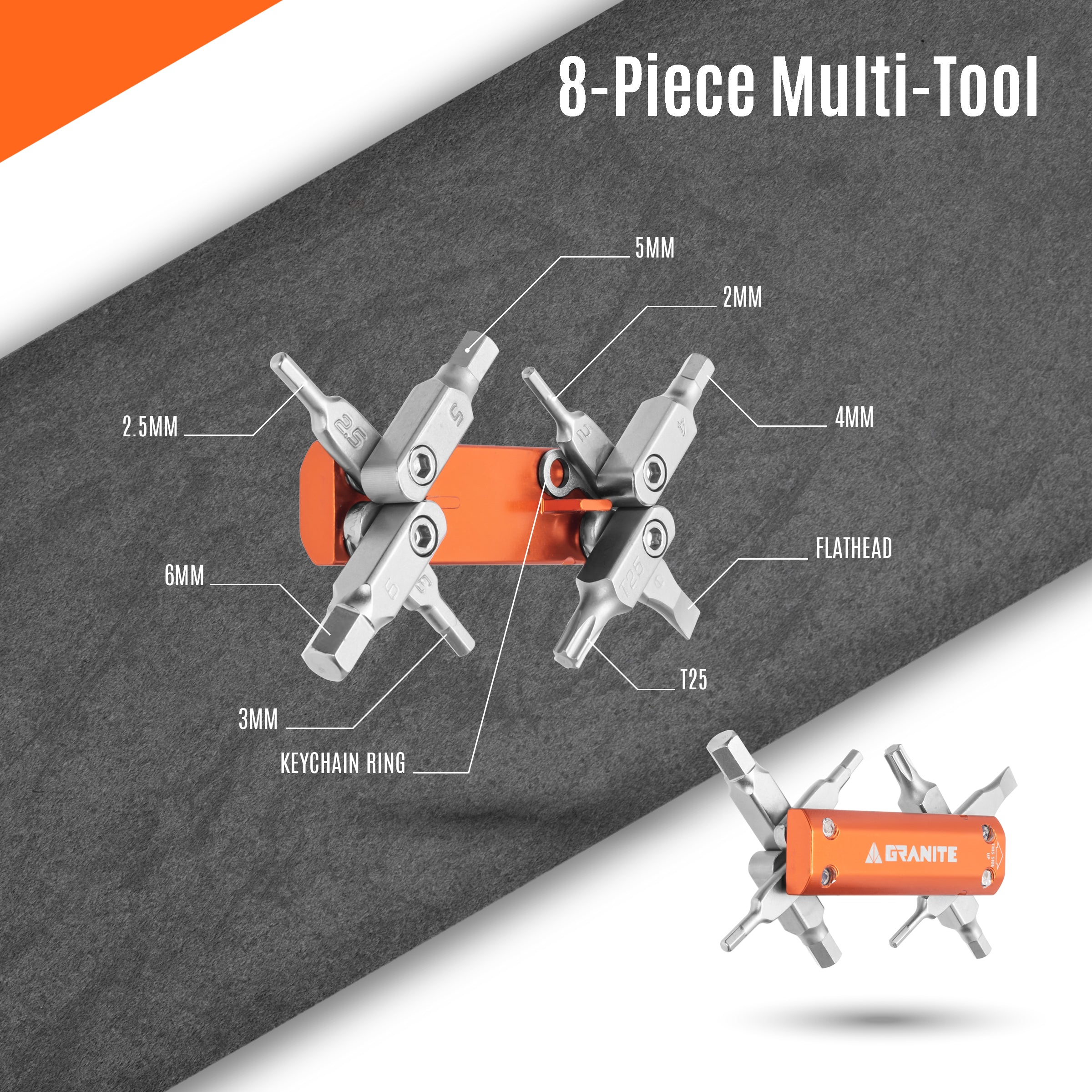 Granite Stash Multi-Tool Kit