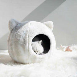 Cat bed semi-enclosed - LittleCutiePaws