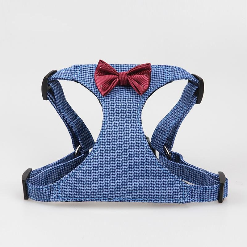 Harness and Leash Gentleman Style Bow Tie - LittleCutiePaws