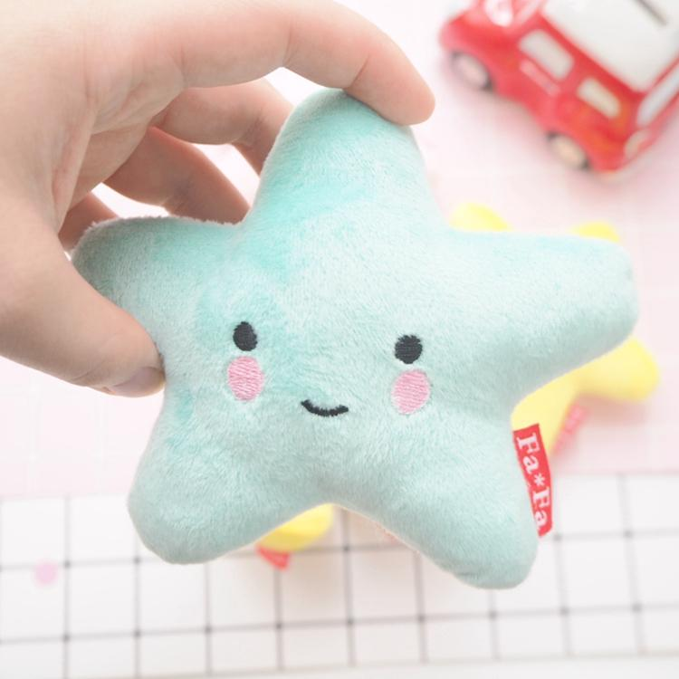 Moon star cute dog bite resistant toy - LittleCutiePaws