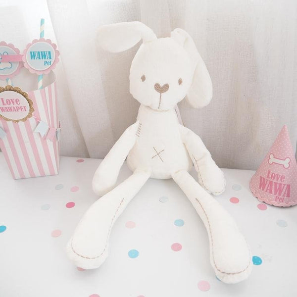 Sleeping bunny plush toy - LittleCutiePaws