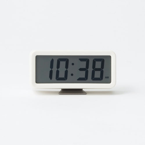 Digital Clock S With Alarm / White