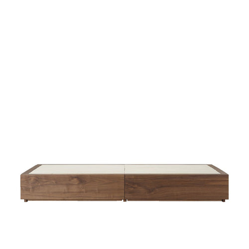 Storage Bed / D / Walnut
