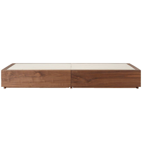 Storage Bed / K / Walnut