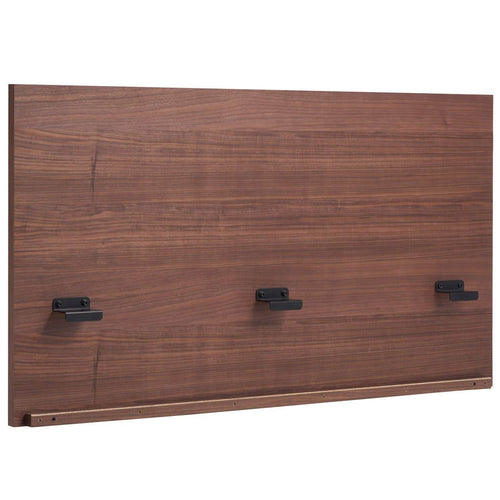 Storage Bed / Headboard / Q / Oak