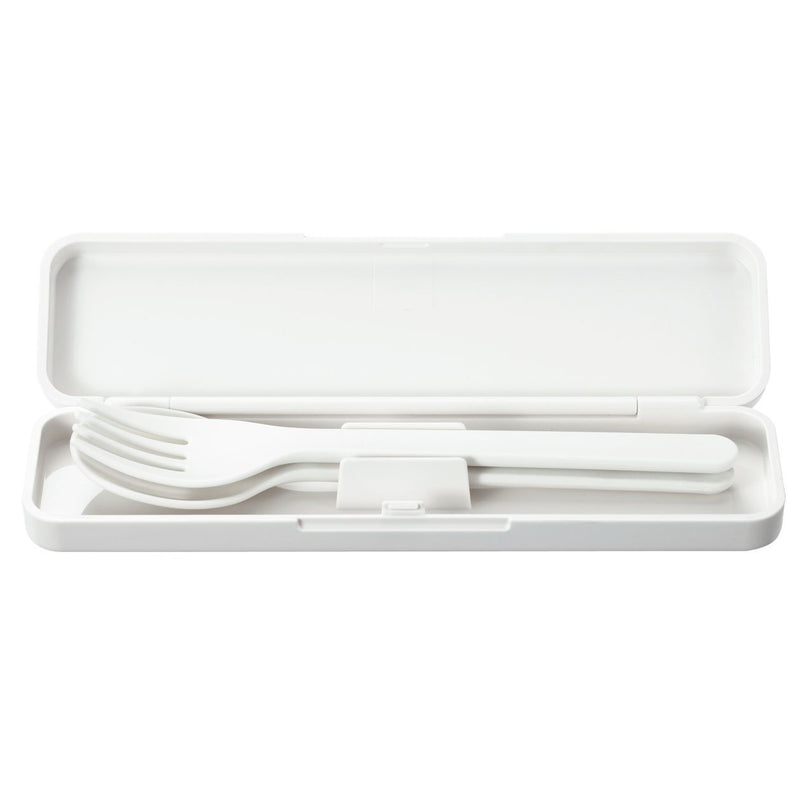 Fork And Spoon Set / White