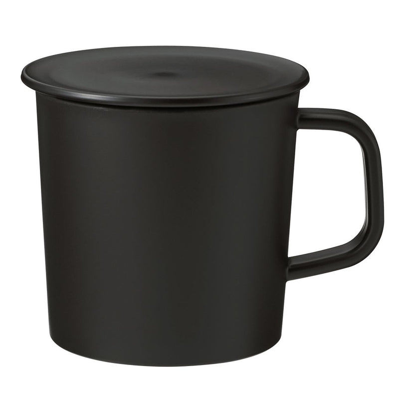 PP Mug With Lid / Black