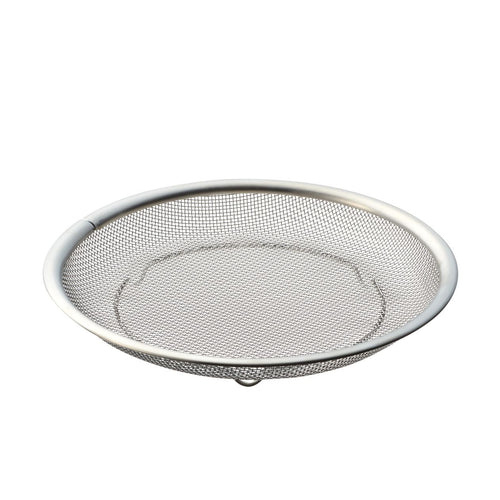 Stainless Steel Flat Colander / L