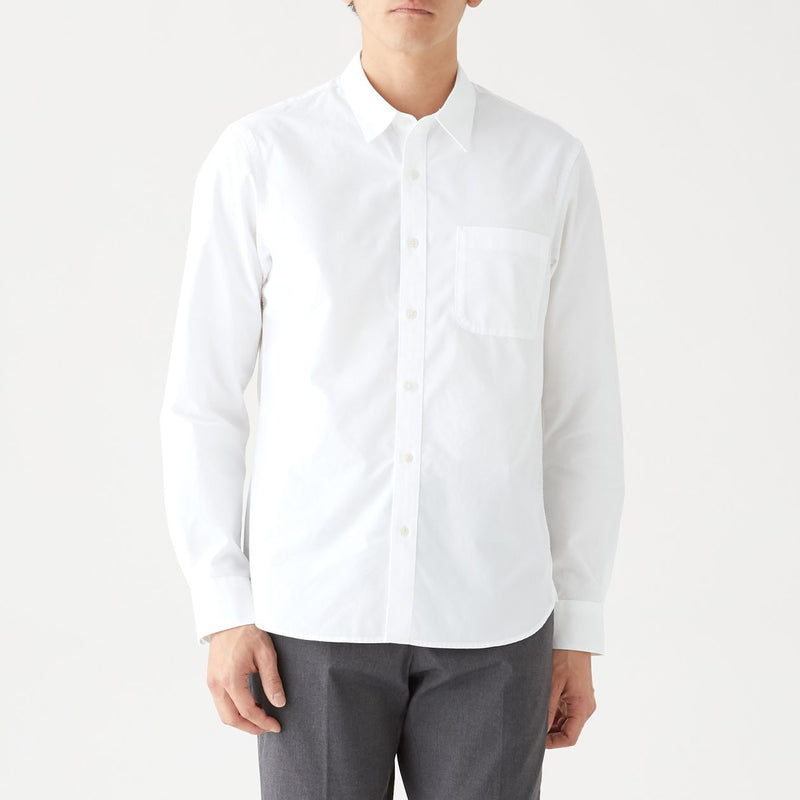 Extra Long Staple Cotton Washed Broad Shirt