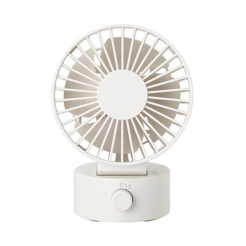 Low Noise Usb Desk Fan / White
