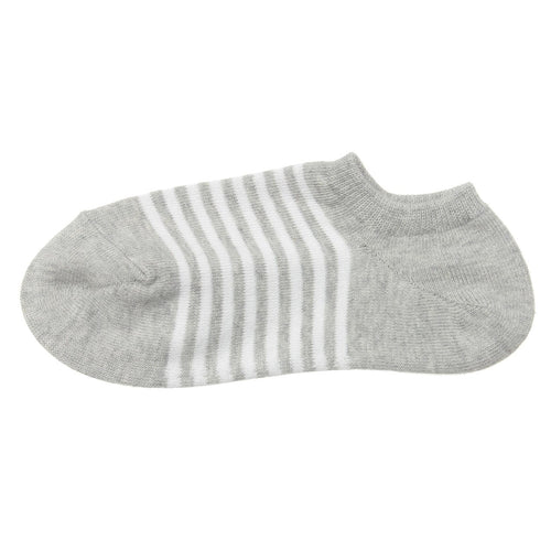 Good Fit Right Angle Border Sneaker-In Socks