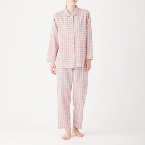 Side Seamless Double Gauze Pajamas