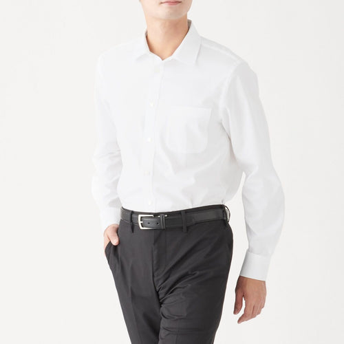 Xinjiang Cotton Stretch Permanent Press Broad Shirt