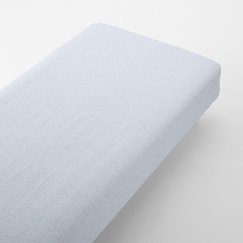Lyocell Linen Plain Weave Fitted Sheet Double