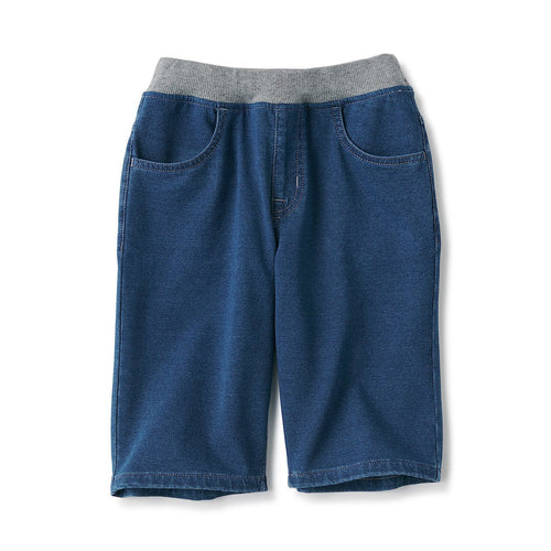 Design For Comfort Denim Easy Half Pants (Kids)