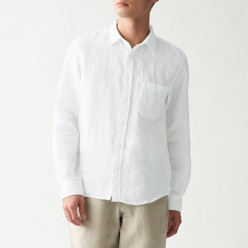 French Linen Washed Shirt