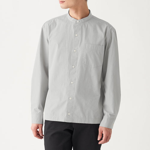 Xinjiang Cotton Broad Stand Collar Shirt