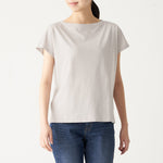 Slub Jersey Stitch French Sleeve T-Shirt