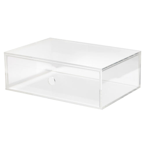 Acrylic Single Drawer Unit