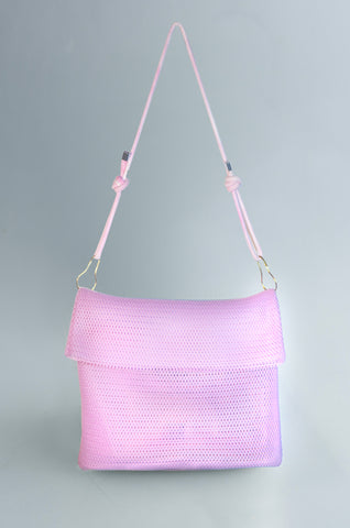 MESH AND KRAFT BAG