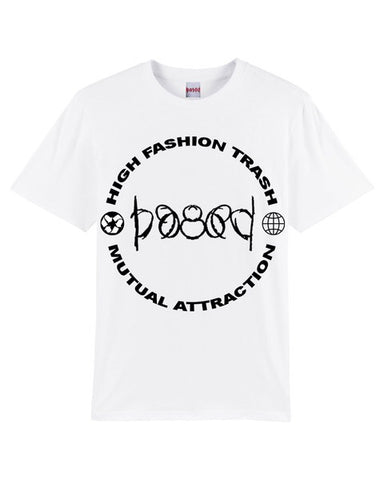 Mutual attraction white T-shirt