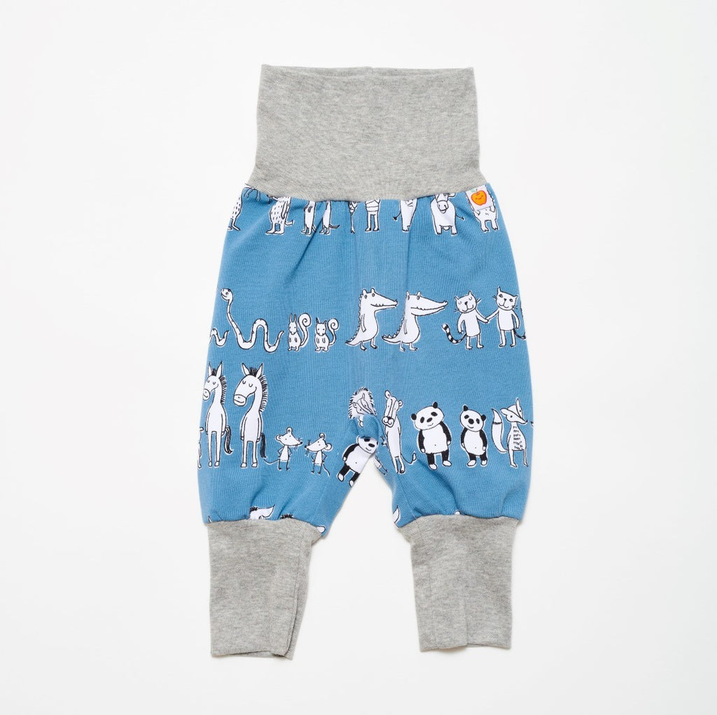 "Baby jersey pants ""Two&two"" - Cheeky Apple"