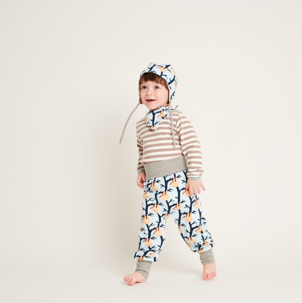 "Baby jersey pants ""Bernd the Sloth"" - Cheeky Apple"