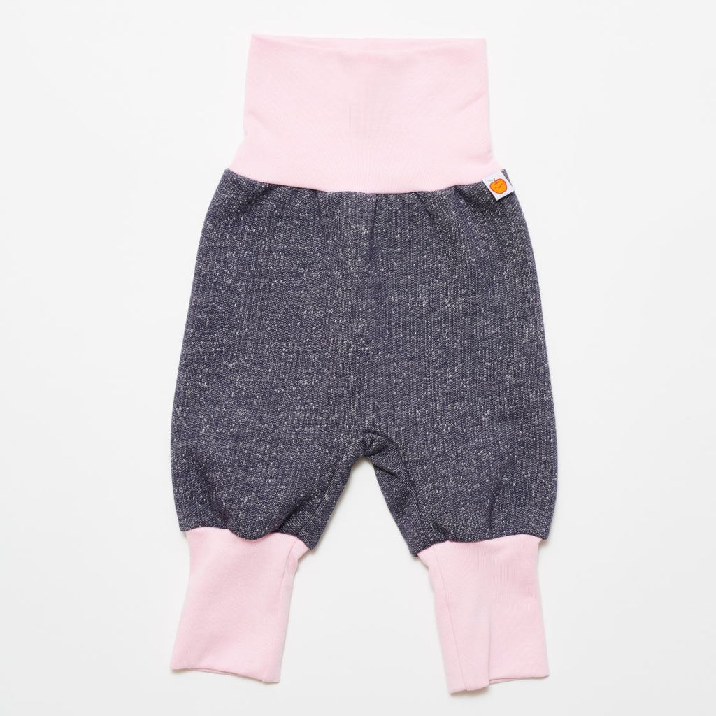"Baby sweat pants ""Sweat India Ink/Baby pink"" - Cheeky Apple"