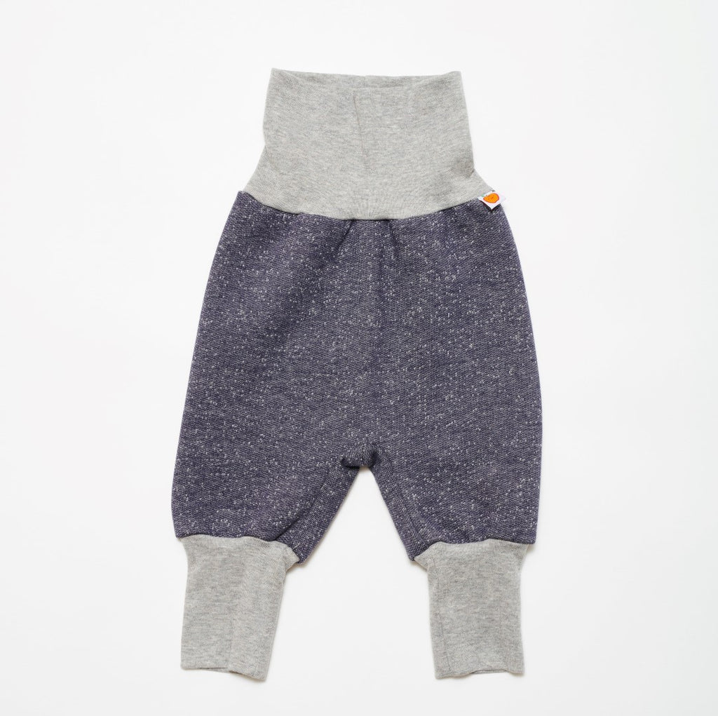 "Baby sweat pants ""Sweat India Ink/Grey"" - Cheeky Apple"