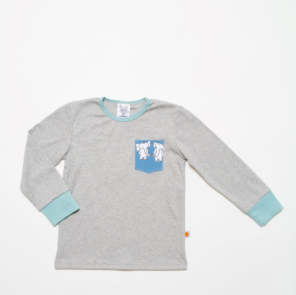 "Longsleeve Top ""Grey/Two&two"""