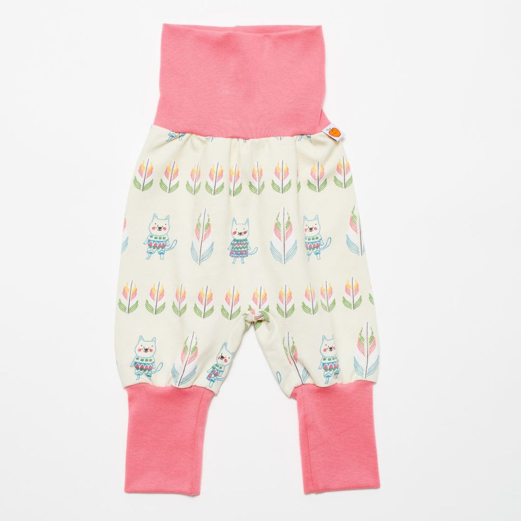 "Baby sweat pants ""Indian cats"" - Cheeky Apple"