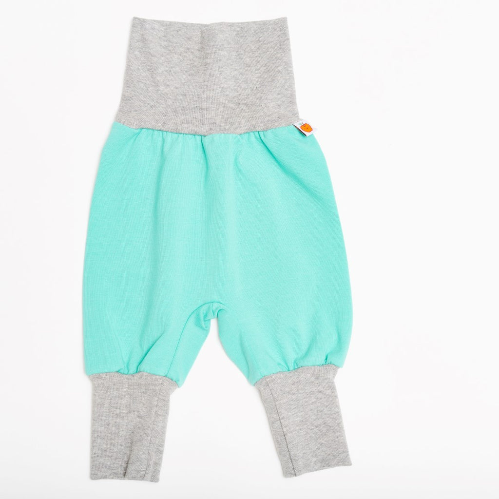 "Baby pants ""Mint/Grey"" - Cheeky Apple"