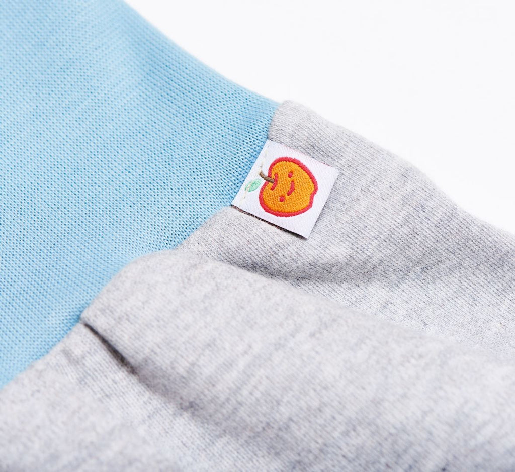 "Baby pants ""Grey/Stone blue"""